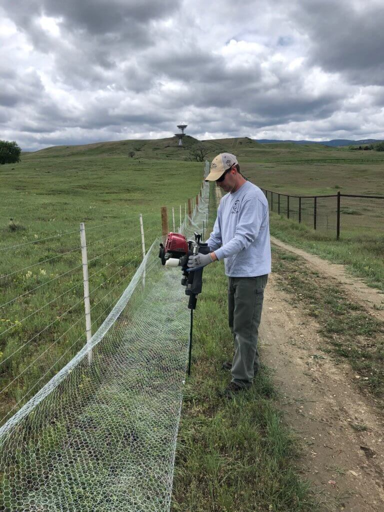 prairie dog fencing